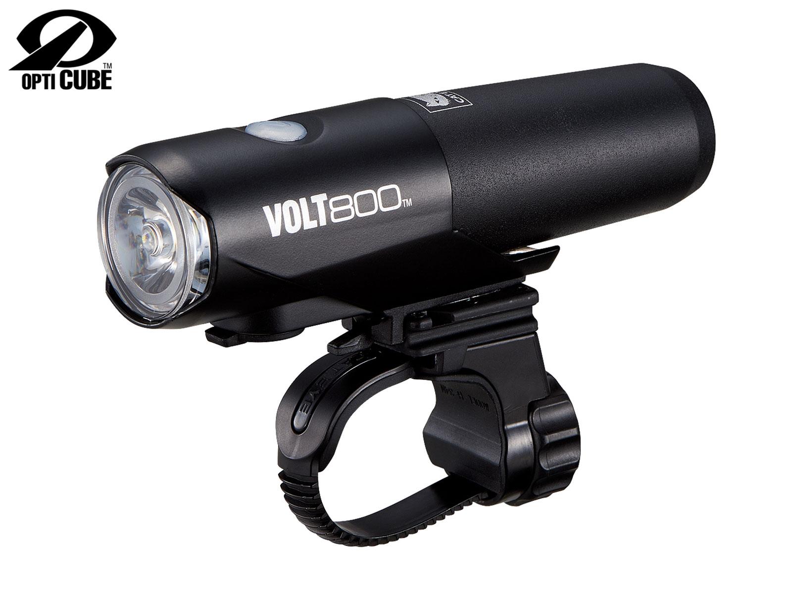 CATEYE Světlo př. CAT HL-EL471RC Volt800 (černá)