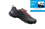 SHIMANO turistické obuv SH-MT300ML, černá, 43