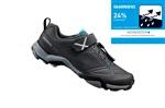 SHIMANO turistické obuv SH-MT500ML, černá, 43