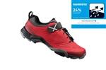 SHIMANO turistické obuv SH-MT500MR, červená, 43
