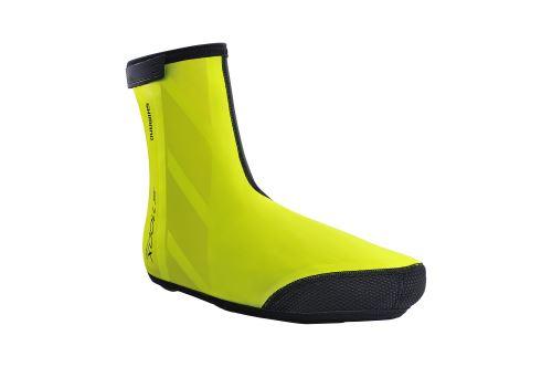 SHIMANO S1100X H2O návleky na obuv, Neon žlutá