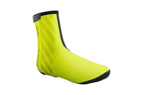 SHIMANO S1100R H2O návleky na obuv, Neon žlutá
