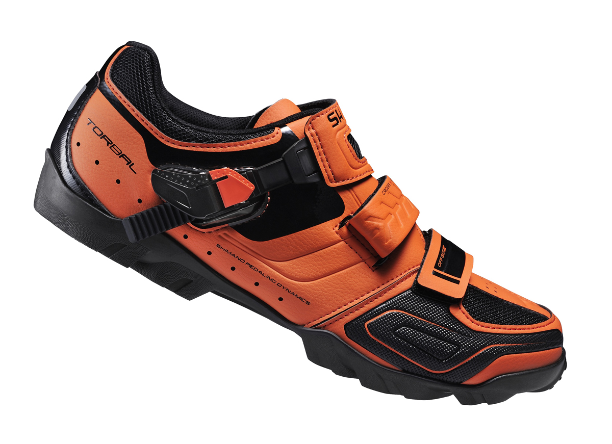 SHIMANO MTB obuv SH-M089O, oranžové, 50