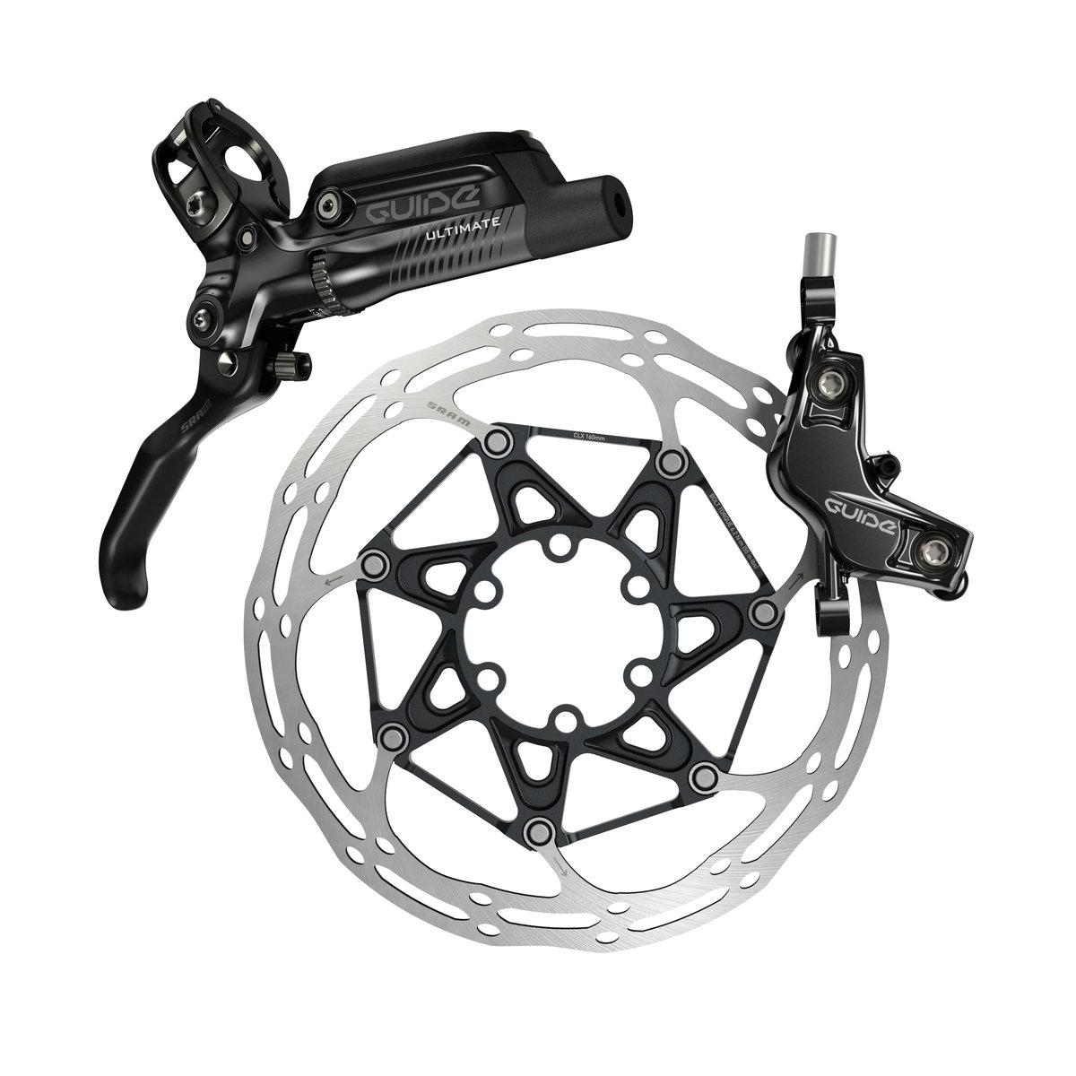Kotoučová brzda SRAM Guide Ultimate, karb.páčka, Black Ano , zadní - ZKRÁCENO 1560mm, bez kotouče