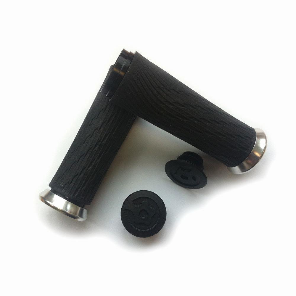 SRAM Locking gripy pro otočné řazení 100mm černé se stříbrnou obj. a zátky