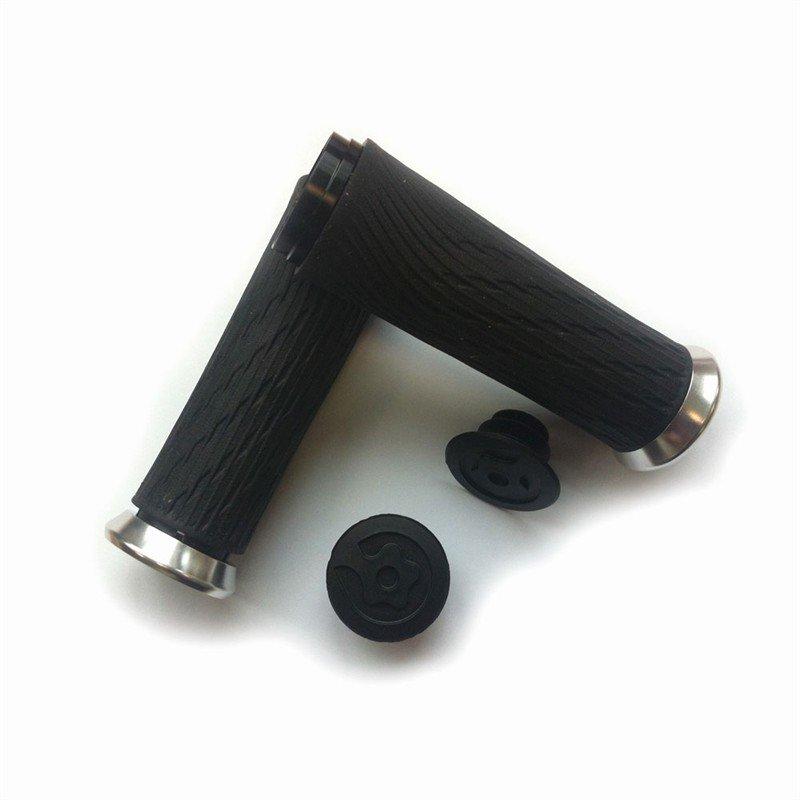 SRAM Locking gripy pro otočné řazení 122mm černé se stříbrnou obj. a zátkami