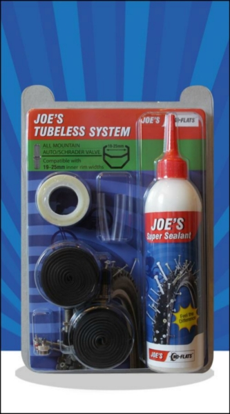 Joe´s Tubeless System All Mountain 26' (19-25mm) + 29' (17-21mm) Autoventil (Green)
