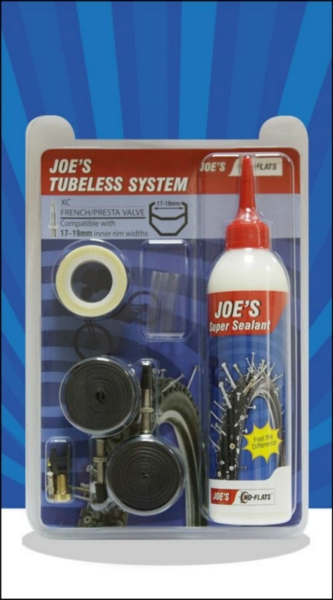 Joe´s Tubeless System XC-galuskový ventil 26' (17-19mm) + 29' (15-17) (Blue)