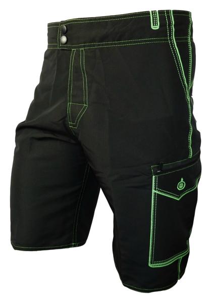 Pánské Cyklokraťasy HAVEN Competitor Black/Green S