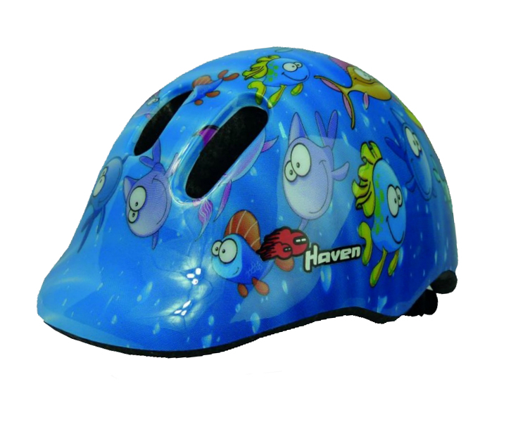 Dětská přilba HAVEN Dream Blue - Fish S/M (48-52 cm)
