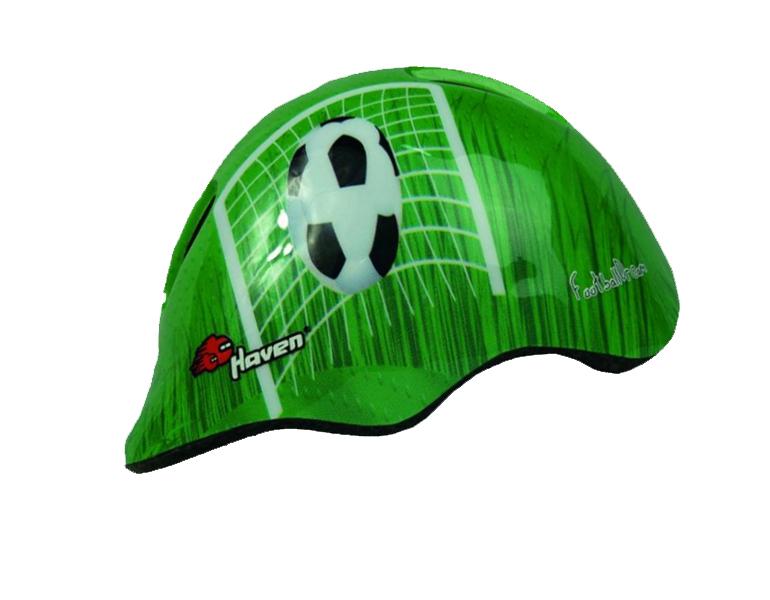 Dětská přilba HAVEN Dream Green - Football S/M (48-52 cm)