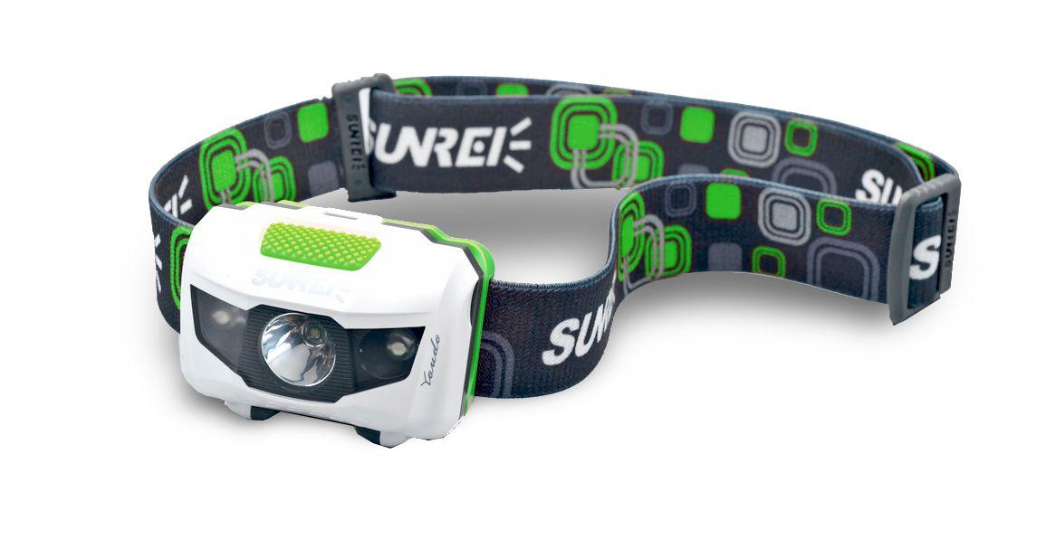 Čelová svítilna Sunree Youdo II green/white Green/White
