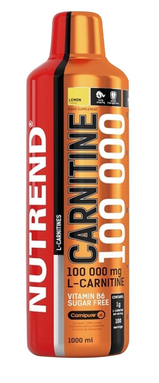 NUTREND CARNITINE 100 000 1l pomeranč