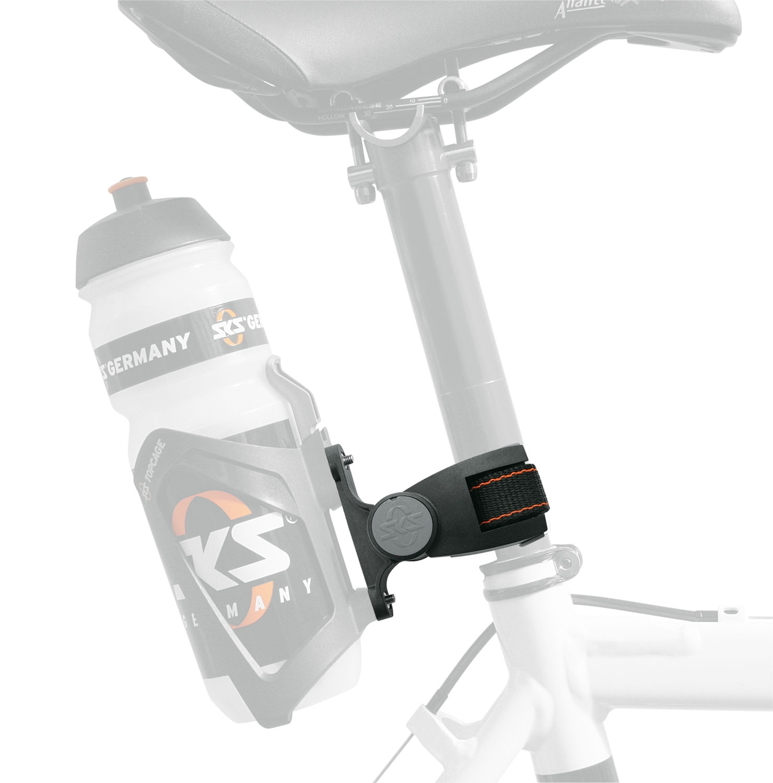 držák - adaptér SKS košíku láhve na sedlovku