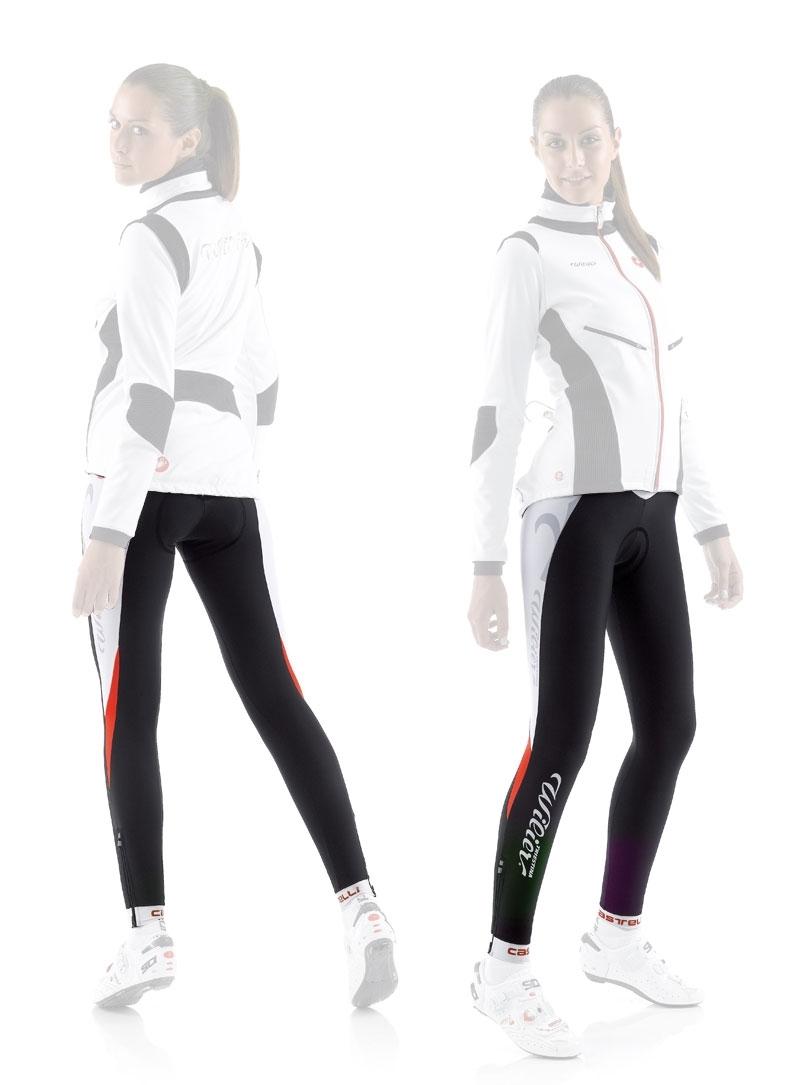WILIER kalhoty do pasu CALZAMAGLIA s vložkou černé L
