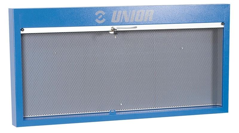 panel k pracovnímu stolu UNIOR s háčky zamykatelný