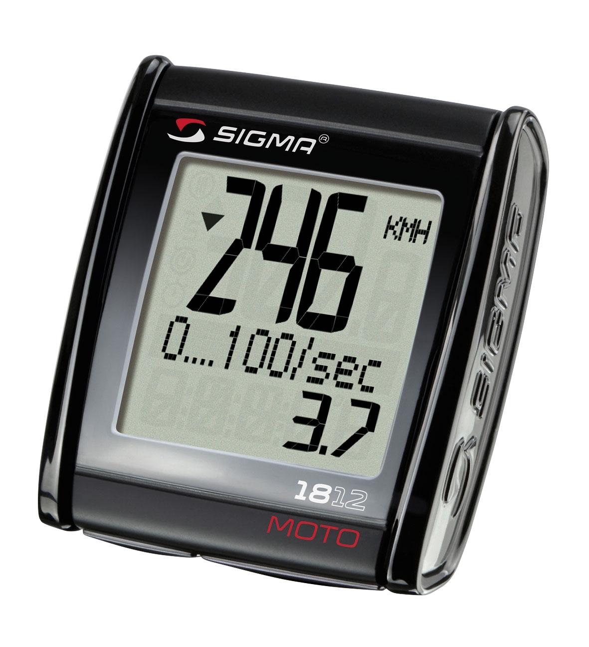 počítač SIGMA MC 18.12 maximální rychlost 399km/h