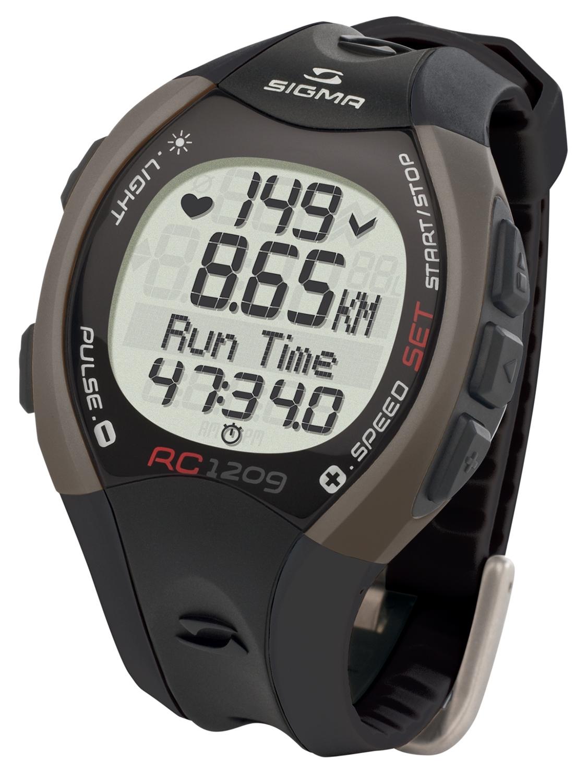 počítač SIGMA pulsmetr běžecký RC 1209 černý
