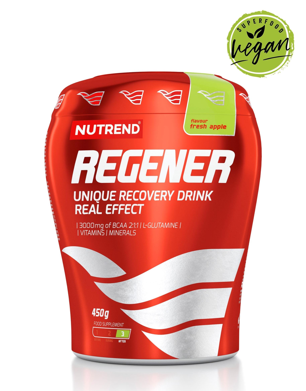 Regenerační nápoj NUTREND Regener - 450 g Zelené jablko