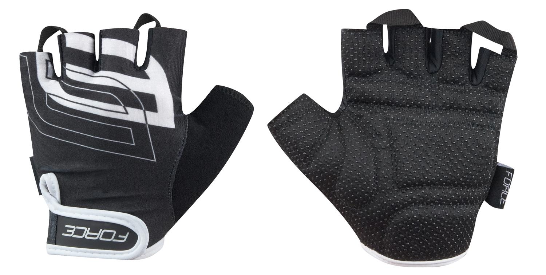 rukavice FORCE SPORT, černé M
