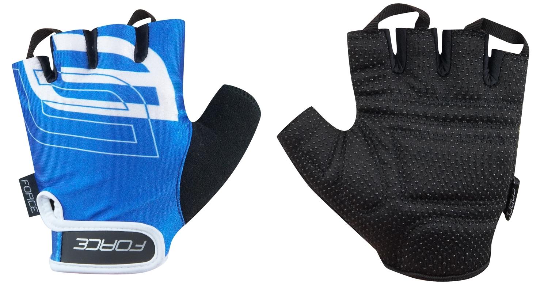 rukavice FORCE SPORT, modré XL