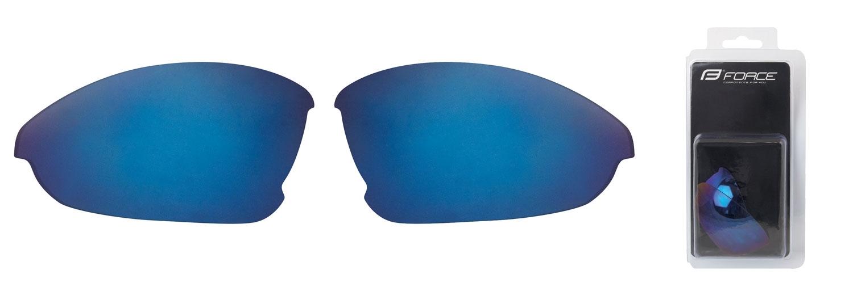 FORCE skla náhradní LADY pár, modrá laser