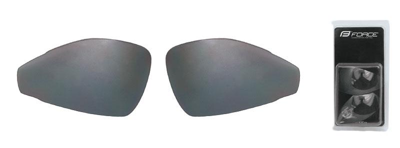 FORCE skla náhradní PRO pár, černá laser