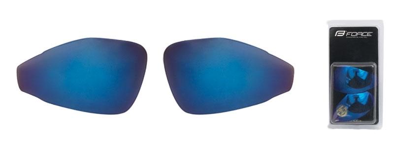 FORCE skla náhradní PRO pár, modrá laser