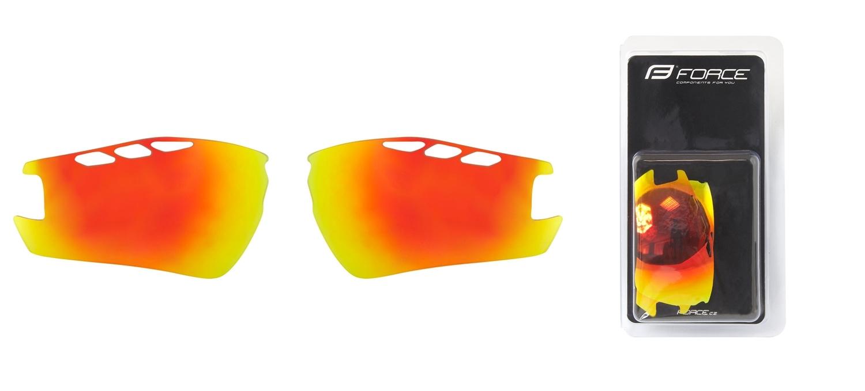 FORCE skla náhradní RIDE PRO , červená laser