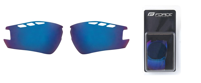 FORCE skla náhradní RIDE PRO , modrá laser