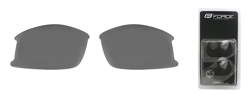 FORCE skla náhradní ULTRA pár, černá laser