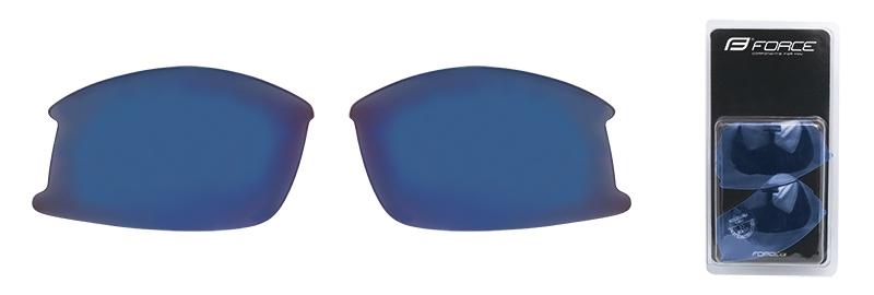 FORCE skla náhradní ULTRA pár, modrá laser