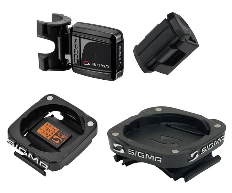 vysílač SIGMA STS rychlosti + držáky na řidítka