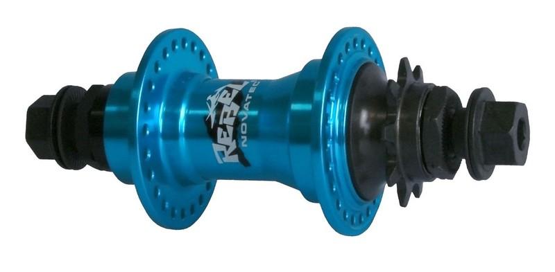 Náboj Novatec F726SB-14-9T-BI, zadný, 48-dierový, modrý