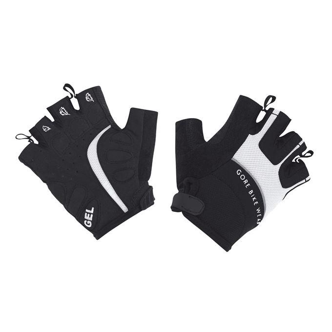 Rukavice dámské GORE Power II Lady Glove-white/black-7