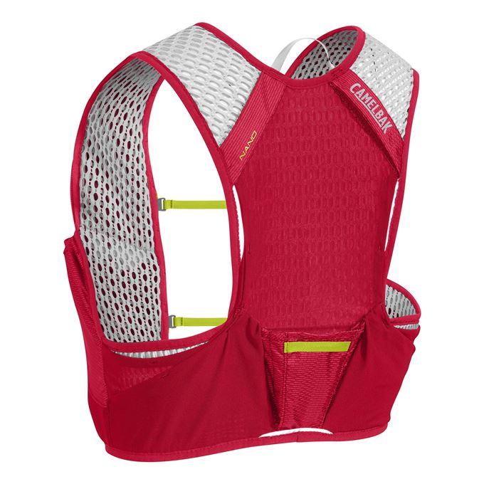 Vesta CamelBak Nano Vest-Crimson Red/Lime Punch M