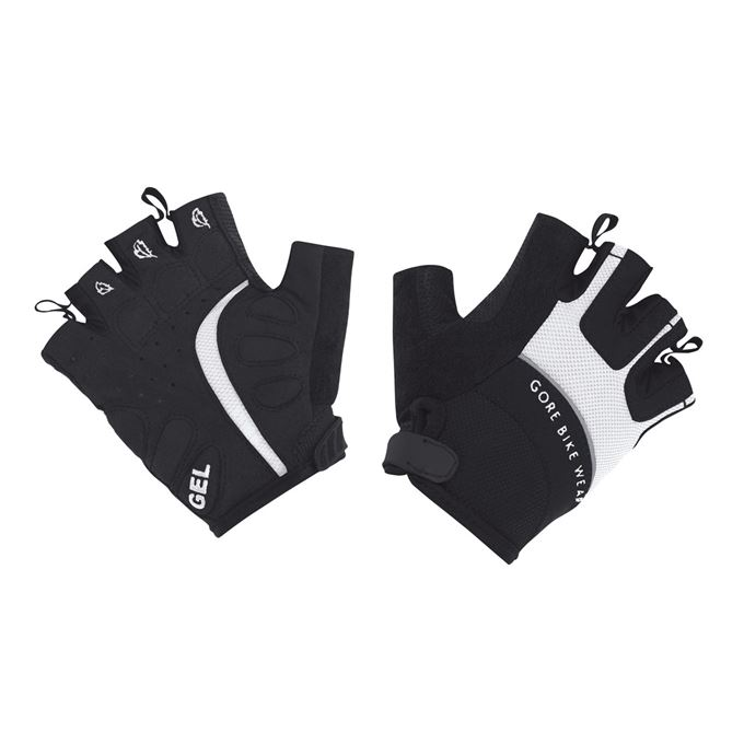 Rukavice dámské GORE Power II Lady Glove-white/black-5
