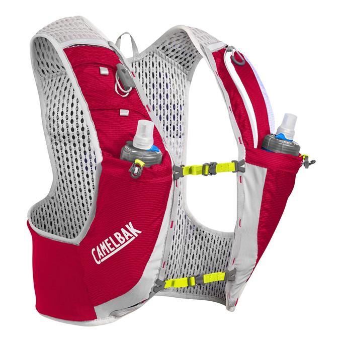 Vesta CamelBak Ultra Pro Vest-Crimson Red/Lime Punch L