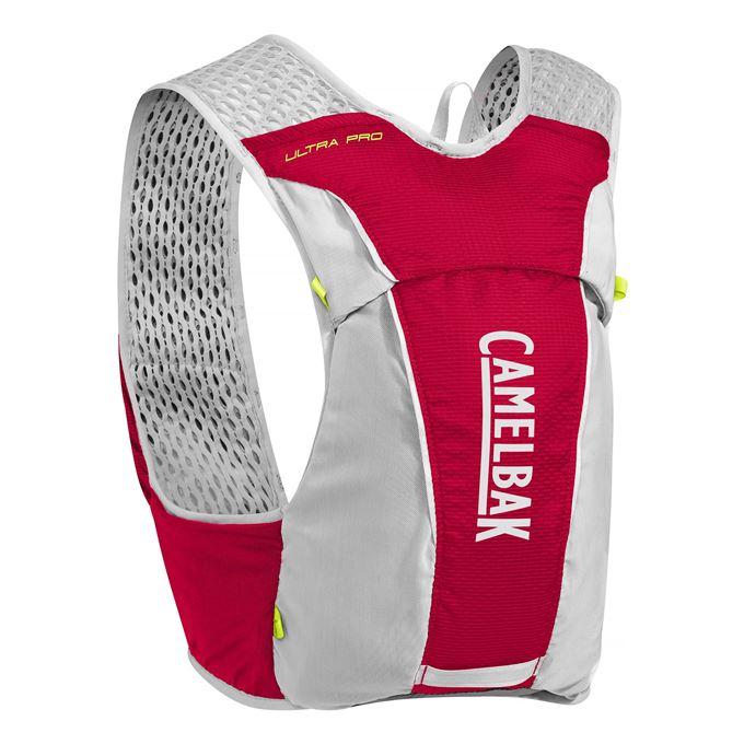 Vesta CamelBak Ultra Pro Vest-Crimson Red/Lime Punch M