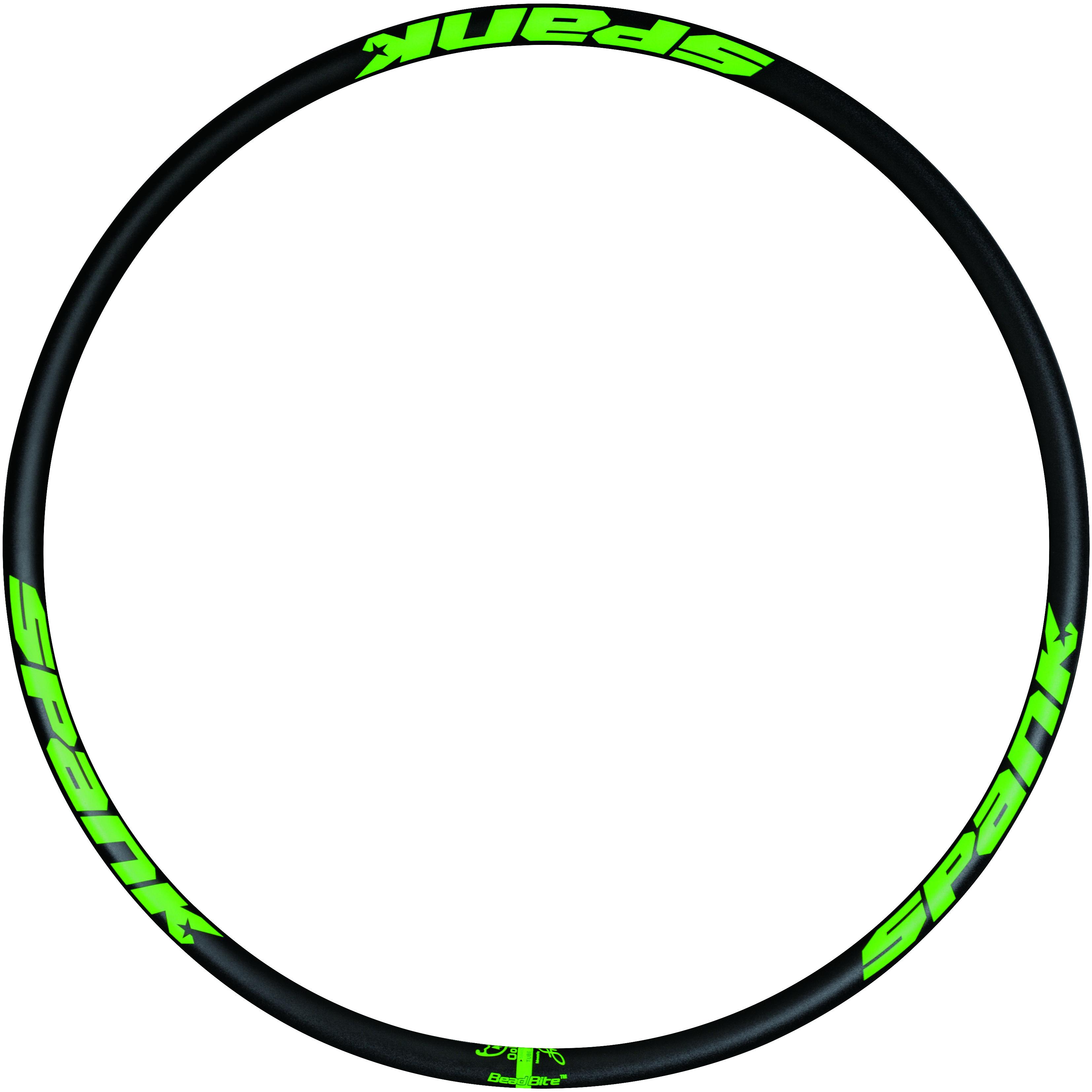 """SPANK Spike Race 33 ráfek, 27.5"""" černý/zelený"""