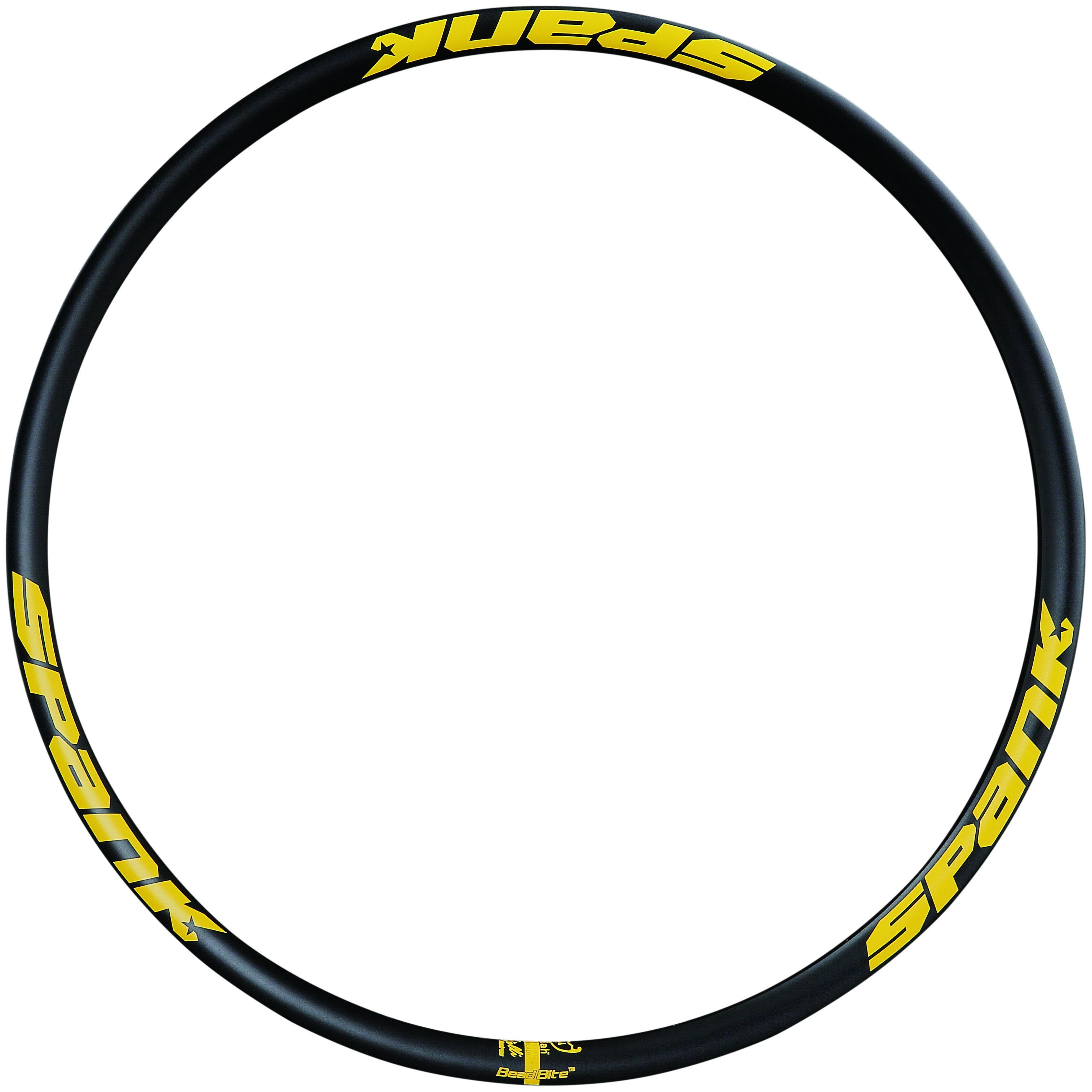 """SPANK Spike Race 33 ráfek, 27.5"""" černý/žlutý"""