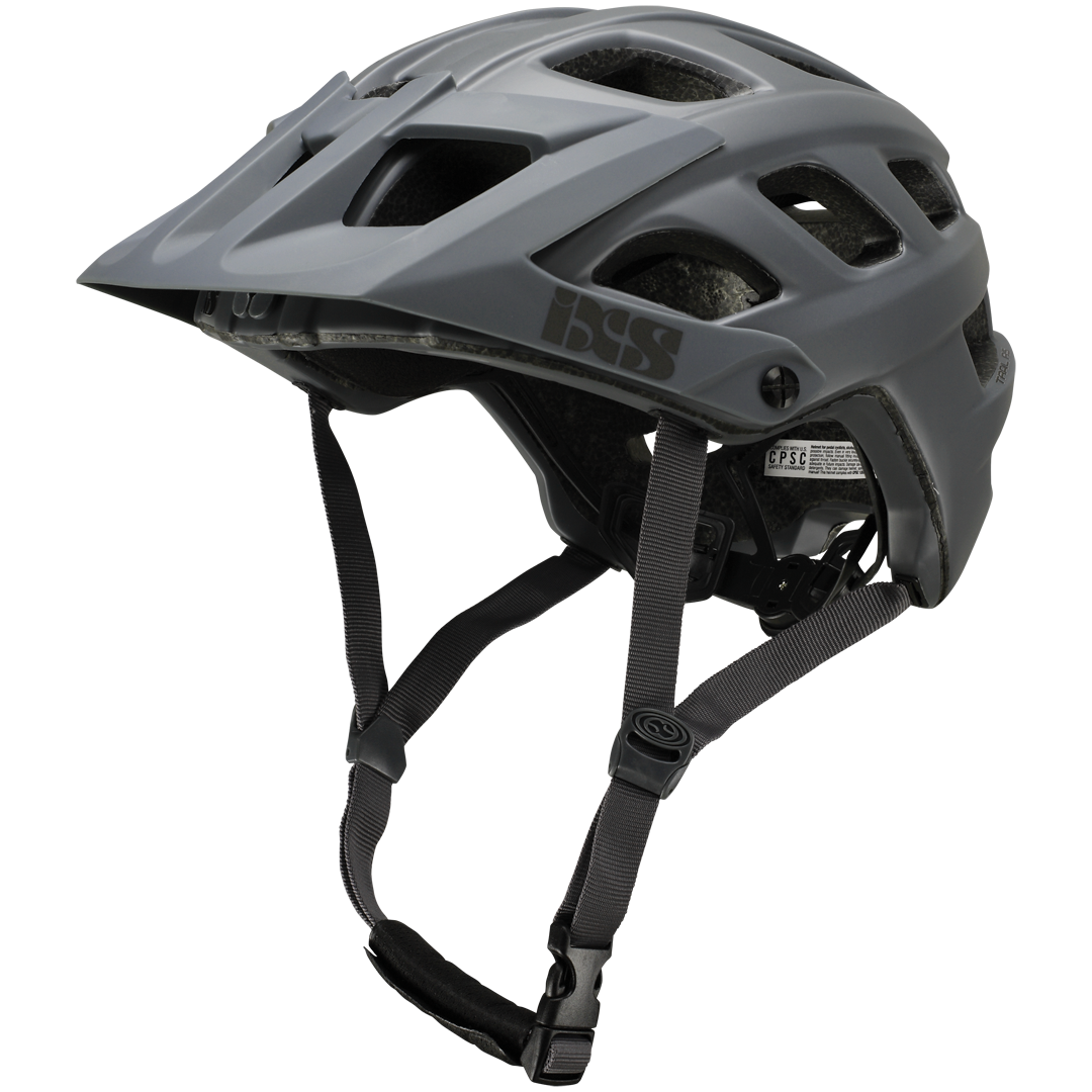 iXS helma enduro Trail RS EVO šedá vel. S/M