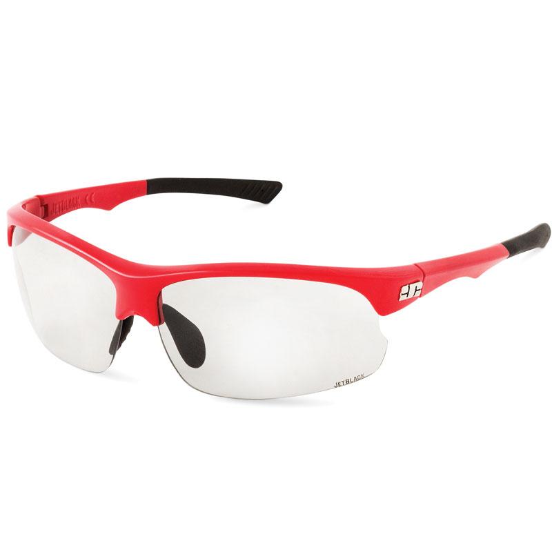 Sportovní brýle JETBLACK Jetstream Photochromic Red/Black Red/Black