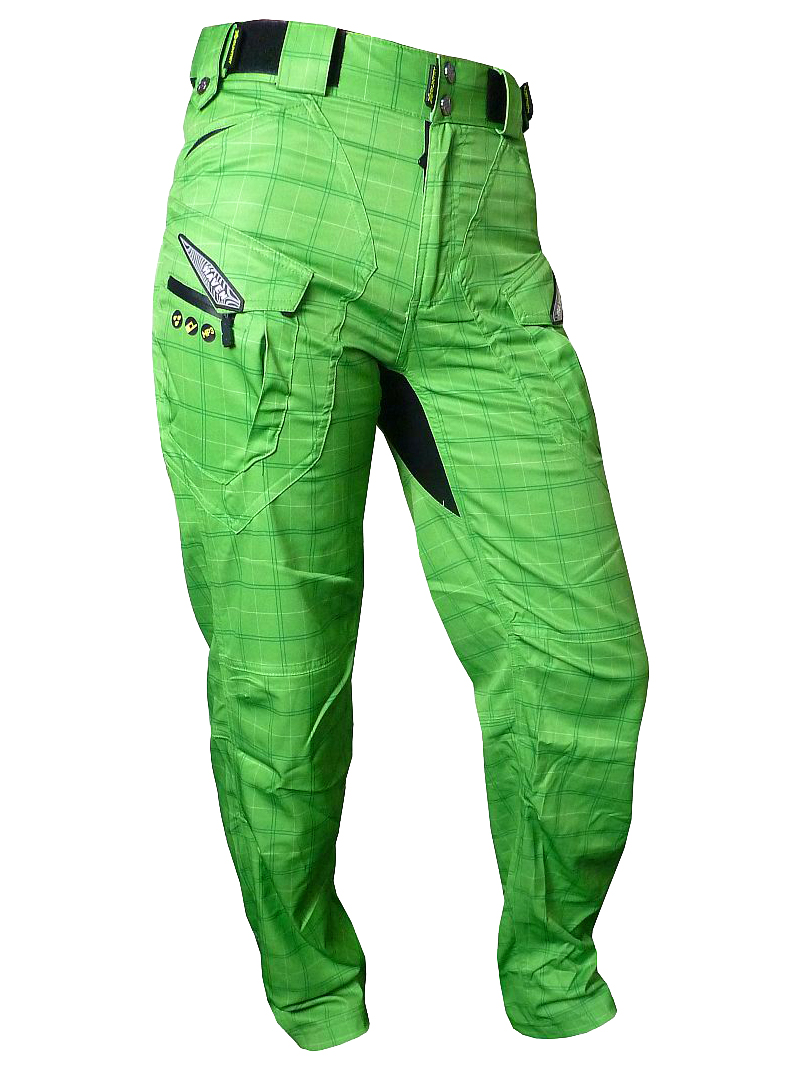 Kalhoty HAVEN Cubes Kingsize II green vel. XXXL