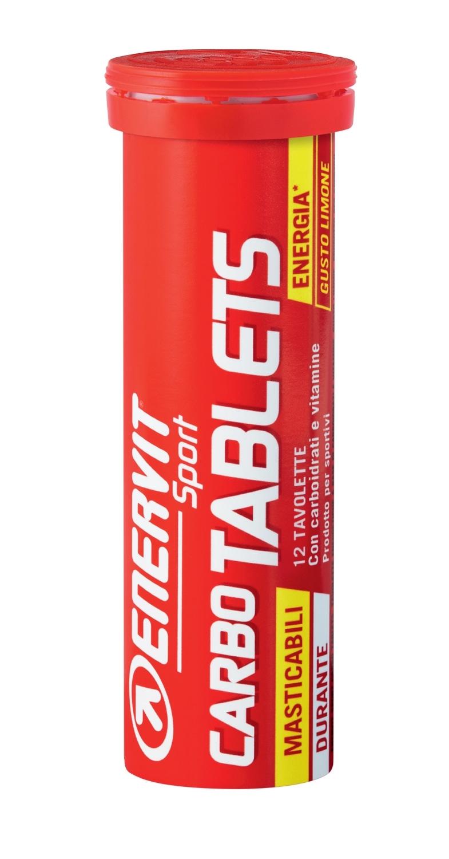 ENERVIT GT SPORT tuba 12ks energy tablet, citron