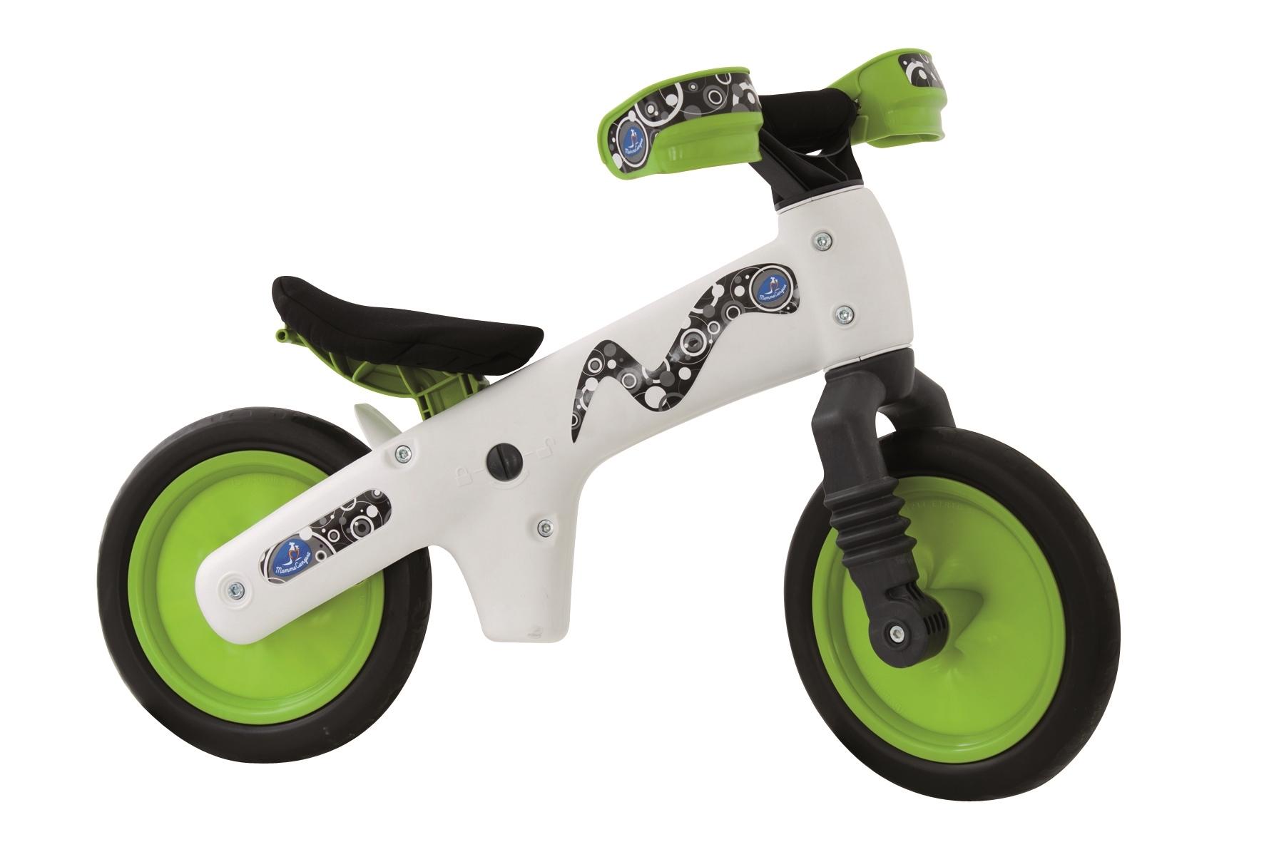 BELLELLI odrážedlo dětské plastové, bílo-zelené