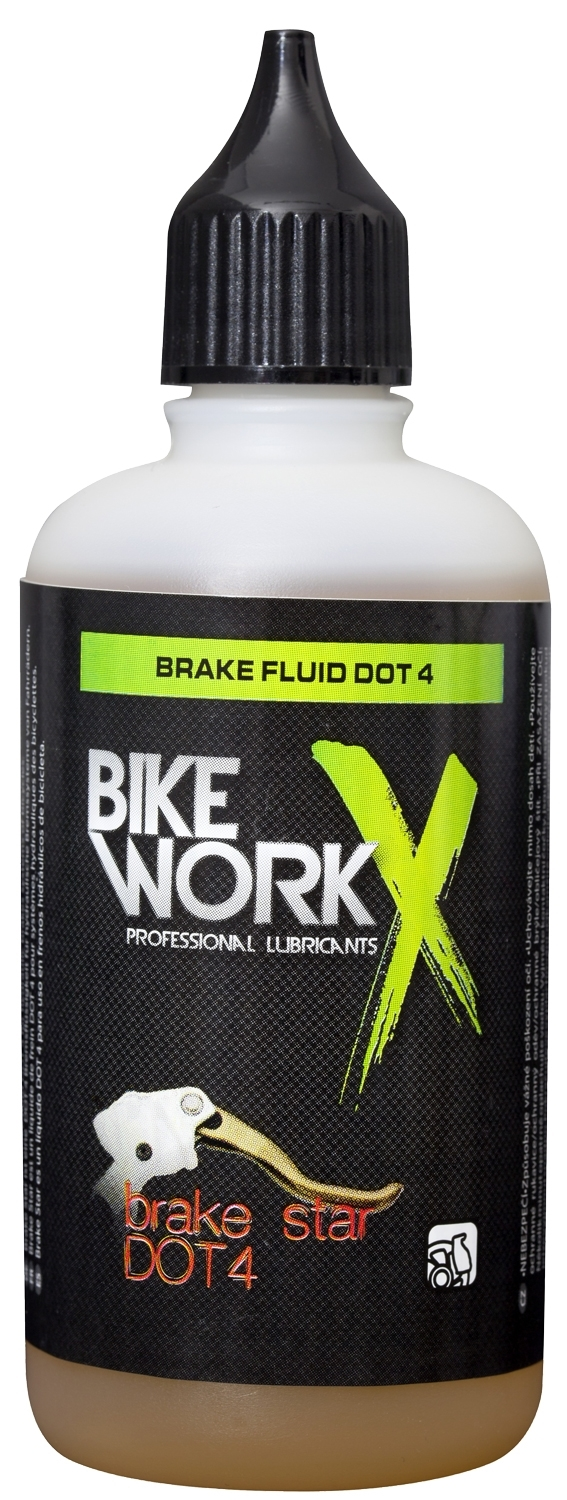 BIKEWORKX olej BRAKE STAR DOT4 100ml