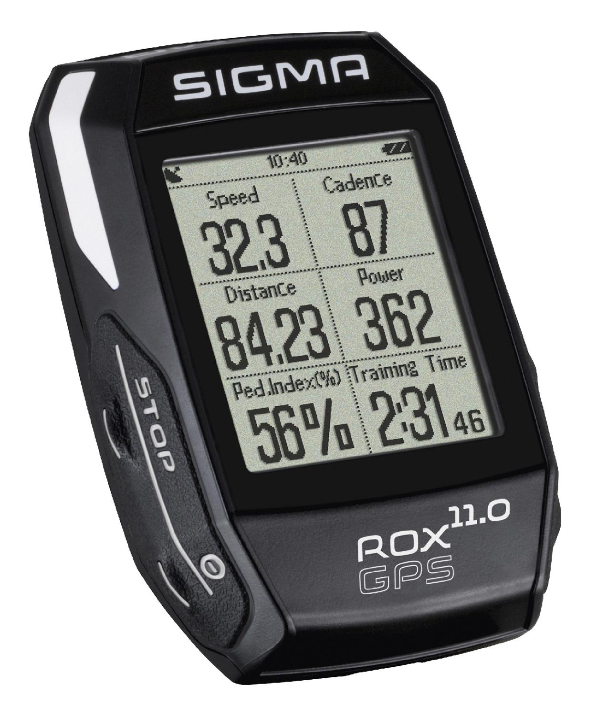 Cyklo počítač SIGMA ROX 11.0 GPS SET, ANT+, černý