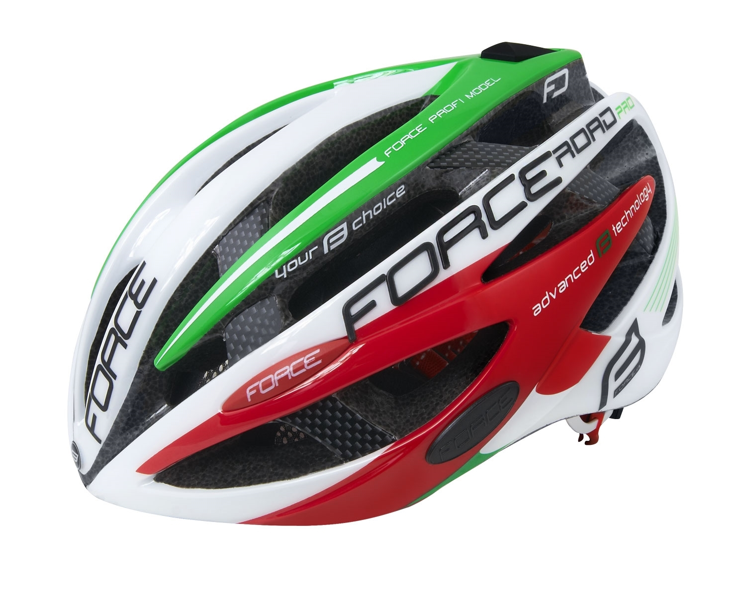 přilba FORCE ROAD PRO, ITALY S - M