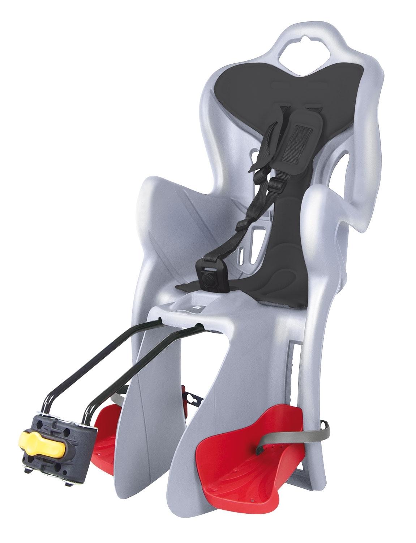 BELLELLI sedačka B-ONE STANDARD zadní stříbrná/černý
